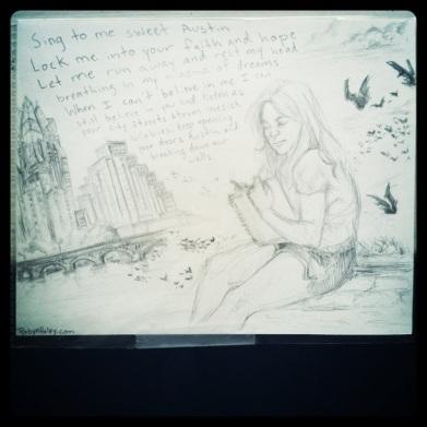 Robyn Haley Postcard