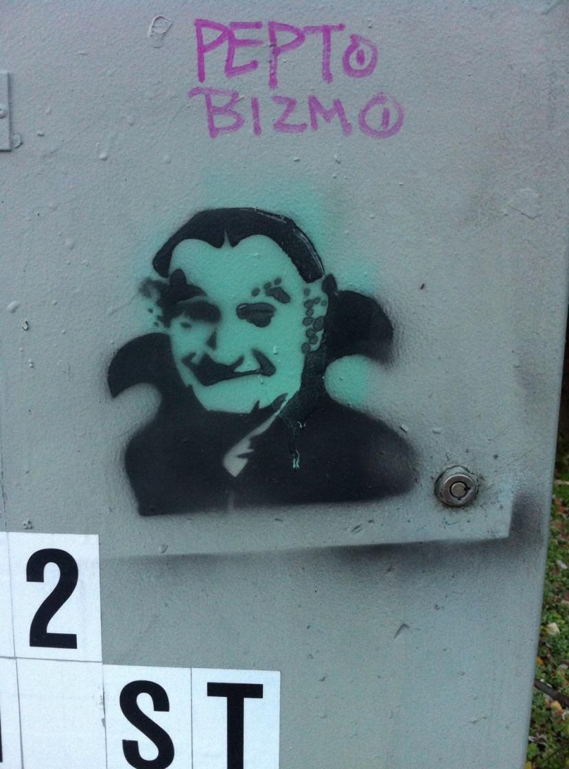 Street Art Grandpa