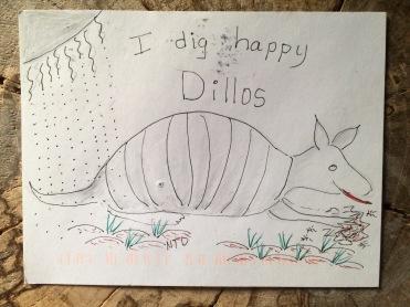 happy dillo